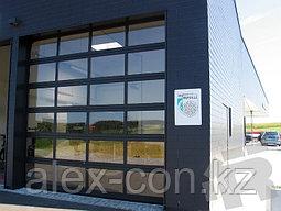 Автоматические панорамные ворота для автосалона, фото 2
