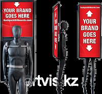 Лайтбокс рюкзак для рекламы