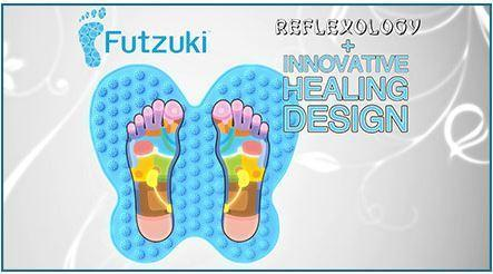 Коврик массажный для ног FUTZUKI REFLEXOLOGY MAT FOOT, Алматы