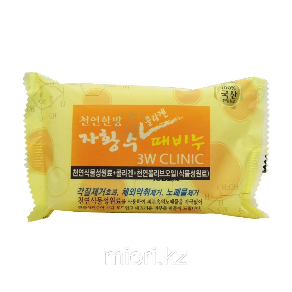 Мыло с коллагеном АНТИВОЗРАСТНОЕ Collagen Dirt Soap 3W CLINIC