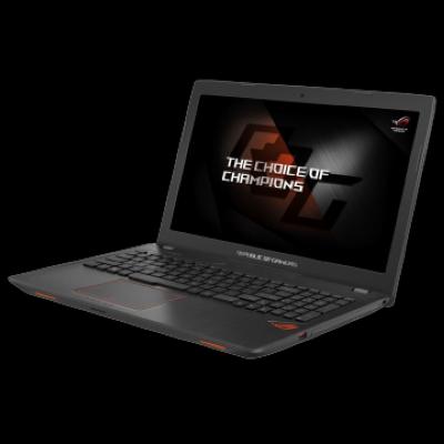 Notebook ASUS ROG GL553VD-FY115T/Intel Core i5-7300HQ/15,6 FHD/8GB/1TB/NV GTX1050 4GB/DVD/Win10/BLACK