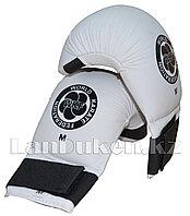 Перчатки для карате WKF размер M белые