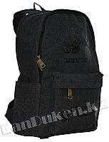 Рюкзак ранец спортивный (черного цвета)