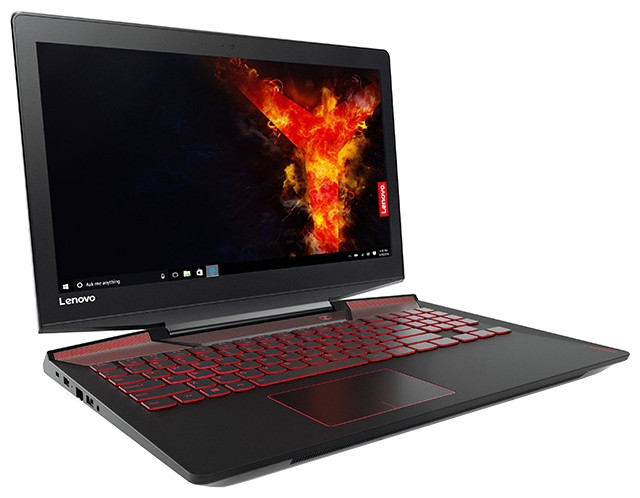 Ноутбук Lenovo Legion Y720-15IKB (Intel Core i7, 4 ядра, 8 Гб, HDD, 1000 Гб (1Тб), 128 Гб, Встроенная и дискретная, DVD, DVD-RW, Windows 10)