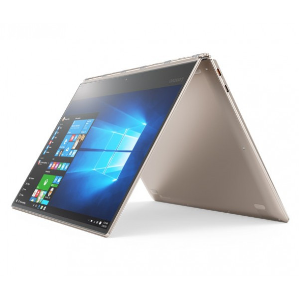 "Lenovo IdeaPad Yoga 910 Gold (13.9"" FHD MT, Intel Core i7 7500U, 8GB DDR3, 512GB, UMA, Win 10)"