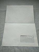 Конверты почтовые С5 162х229мм., окно, отрывная лента