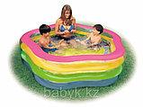 Бассейн  intex 185*180*53 детский (семейный), фото 2