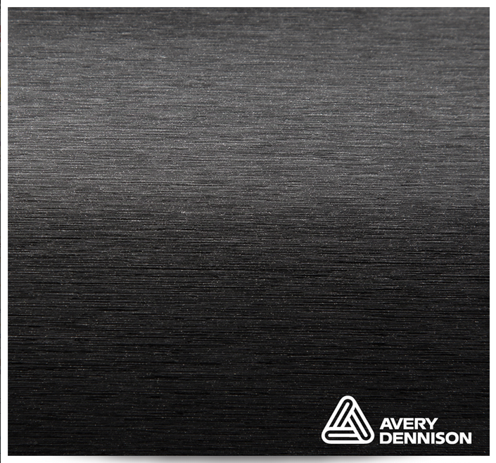 Автовинил Avery Dennison | Brushed Black