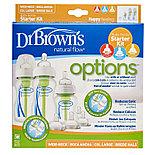 Набор Dr. Brown's из 3-х противоколиковых бутылочек с ш/г+4 соски, ПП, фото 3