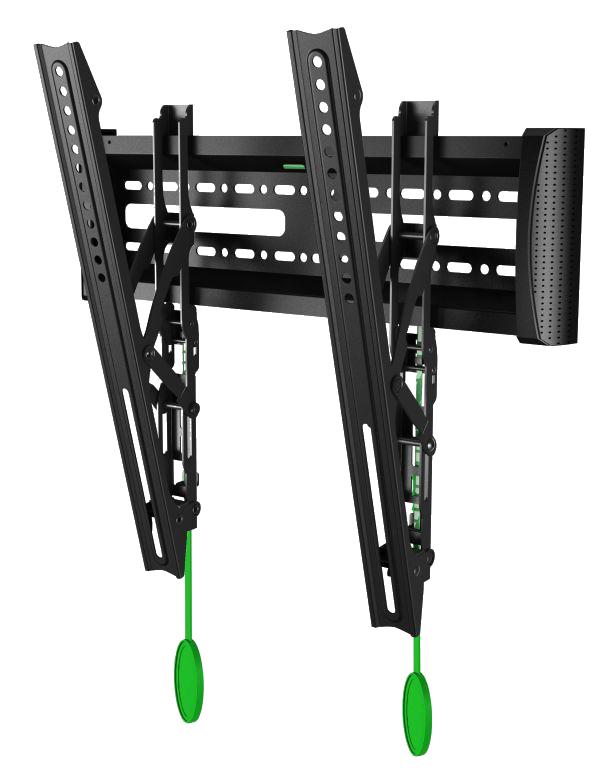 Фиксированные наклонные настенные кронштейны для ЖК и Плазмы с диагональю 32-47 дюймов  МОДЕЛЬ NB C2-T