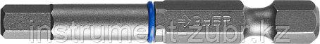 """Биты ЗУБР """"ПРОФЕССИОНАЛ"""" торсионные кованые, обточенные, хромомолибденовая сталь, HEX5, 2шт, фото 2"""