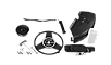 Триммер бензиновый (бензокоса), ЗУБР КРБ-430, 42,7см3 (1,5 л.с./1,1 кВт), 10000об/мин, катушка/нож, шир. скашивания 44/25,5см, велос.рукоятка, фото 4