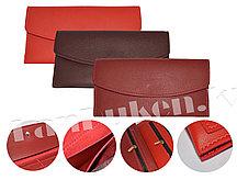 Кошелек визитница в ассортименте (оттенки красного) 0211