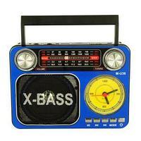Радиоприемник Meier M-U36 c MP3, фонариком и часами, фото 1