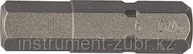 """Биты """"X-DRIVE"""" торсионные кованые, обточенные, KRAFTOOL 26127-6-50-2, Cr-Mo сталь, тип хвостовика E 1/4"""", HEX6, 50мм, 2шт"""