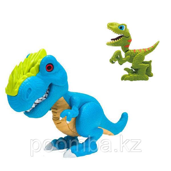 Junior Megasaur 2 динозавра свет,звук эфф-ты в ассортименте