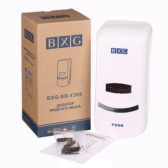 Дозатор жидкого мыла BXG SD 1369 (механический), фото 2