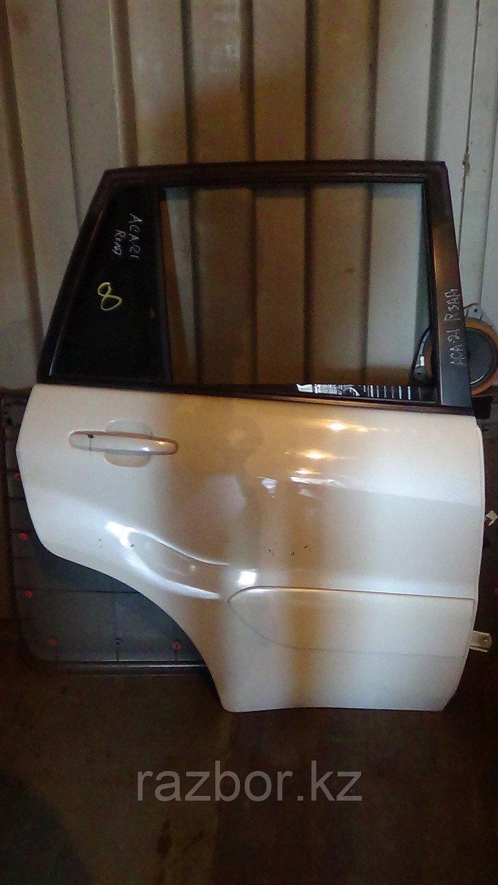 Дверь правая задняя Toyota RAV4 (ACA21)