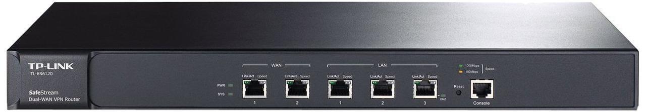 Маршрутизатор GbE Multi-WAN VPN Tp-Link TL-ER6120
