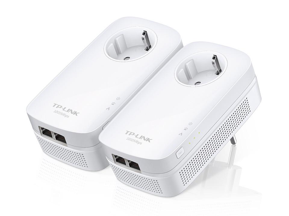 Сетевой адаптер Powerline Tp-Link TL-PA7020PKIT(EU)