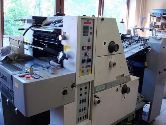 Hamada DU 34 б/у 1996г - офсетная машина