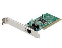 Адаптер гигабитный 1-port UTP 10/100/1000 Mbps для  32-битной шины PCI, с поддержкой PnP,   Flow control, WOL,