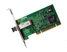 Серверный PCI адаптер Gigabit Ethernet с  оптическим интерфейсом совместим с  32/64-битной шиной PCI , обеспеч