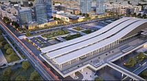 новый вокзал Нурлы Жол