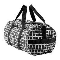 Спортивная сумка КНЭЛЛА черный/белый IKEA, ИКЕА