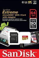 SanDisk Extrime 32GB microSDXC 90MB/s USH-l Class 10