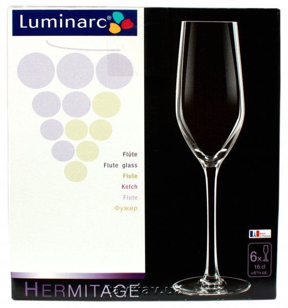 Набор бокалов для шампанского Luminarc Hermitage 160 мл 6 шт.