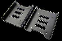 "Крепление кронштейн (адаптер) для 2,5""SSD в слот 3,5"" ПК, фото 1"