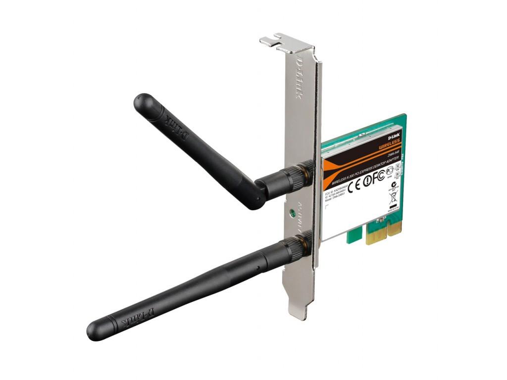 Беспроводный PCI Express -адаптер  802.11b/g/n (проект)  производительность беспроводного подключения до 300 М