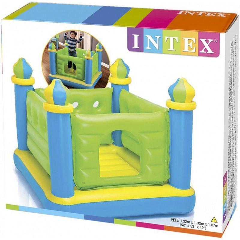 """Детский надувной игровой центр """"Замок"""" батут Intex 48257 - фото 2"""