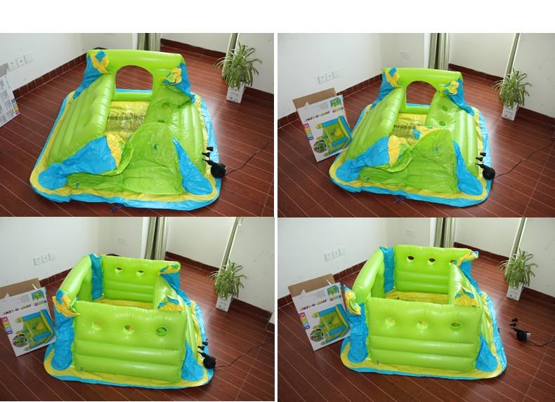 """Детский надувной игровой центр """"Замок"""" батут Intex 48257 - фото 4"""