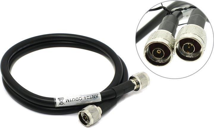 Кабель удлинительный для подключения антенн  1 метра RP N plug and N plug