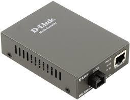 Автономный медиаконвертер D-link одномодовый на 20 км, разъем SC для преобразования витая пара 100Base