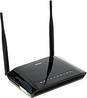 Модем, D-Link, DSL-2750U/RA/U3A, Беспроводной, 300М, ADSL2+router, 3G/LTE