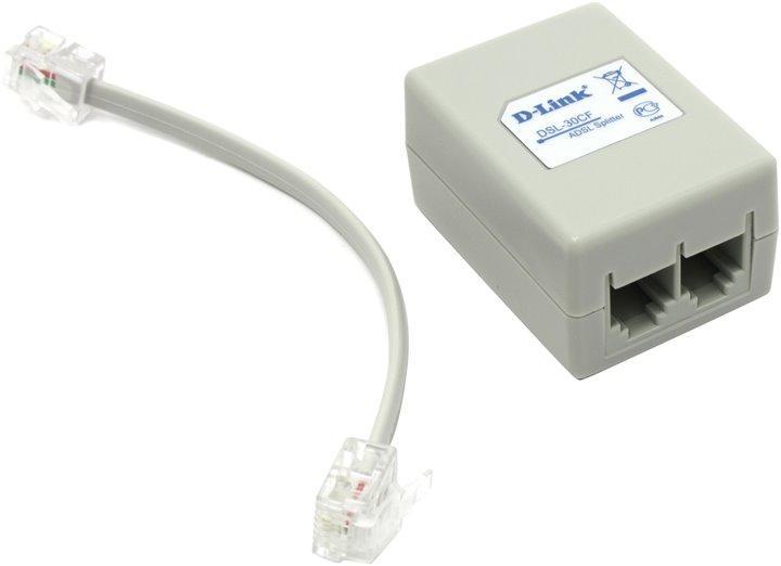 Сплиттер D-Link для ADSL модемов