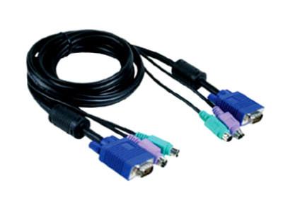 Комплект кабелей D-Link для KVM переключателей длина 4,5 метров