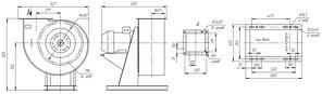 Взрывозащищенный вентилятор ВР 85-77-4,5-ДУ; ВР 85-77-4,5-ВД, фото 3