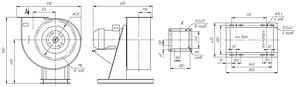 Вентилятор вытяжной промышленный ВР 85-77-5-ДУ; ВР 85-77-5-ВДУ, фото 3