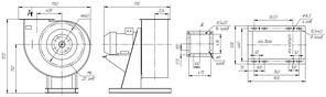 Вентилятор вытяжной промышленный ВР 85-77-6,3-ДУ; ВР 85-77-6,3-ВДУ, фото 3