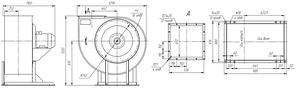 Вентилятор радиальный для дымоудаления ВР 85-77-7,1- ДУ; ВР 85-77-7,1- ВДУ, фото 3
