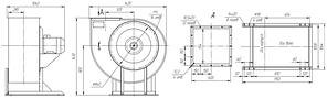 Взрывозащищенный вентилятор ВР 85-77-8-ДУ; ВР 85-77-8-ВДУ, фото 3