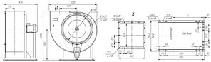 Взрывозащищенный вентилятор ВР 85-77-11,2-ДУ; ВР 85-77-11,2-ВДУ, фото 3
