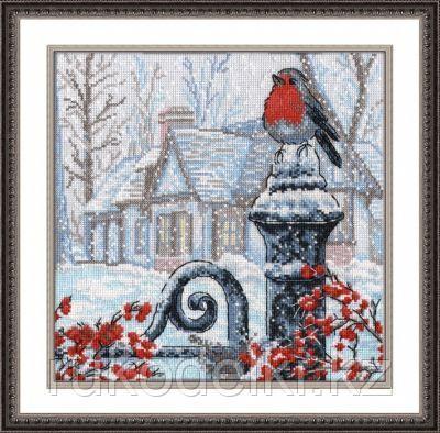 """Набор для вышивания крестом """"Рождественское утро"""""""