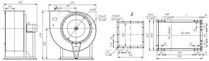 Взрывозащищенный вентилятор ВР 85-77-12,5-ДУ; ВР 85-77-12,5-ВДУ, фото 3