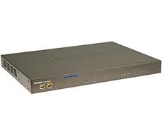 16-х портовый шлюз D-Link VoIP (SIP) 16  FXS интерфейса для подключения до 16 телефонов или факсов.