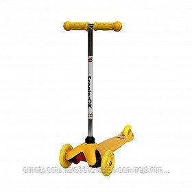 Самокат Scooter OK Yellow
